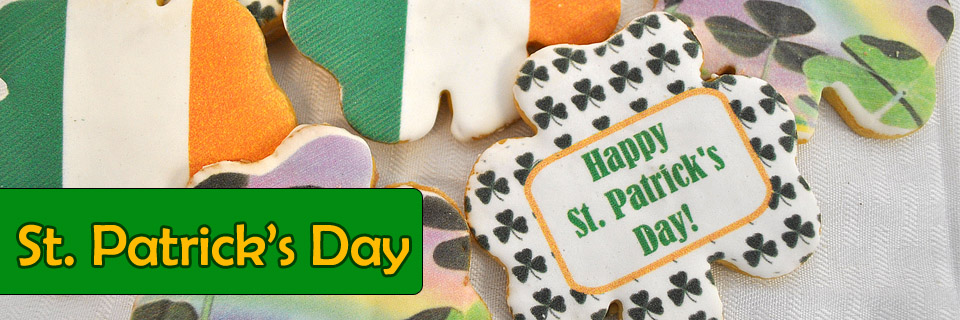 Sweet Cookies for St. Patrick's Day!